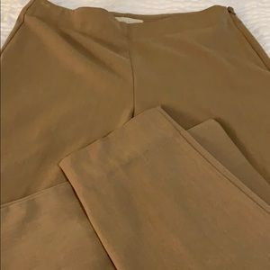 EUC Talbots heritage side zip trousers women's